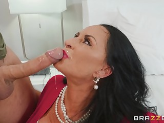 matured brunette Rita Daniels craving for abiding penis not far from her pussy