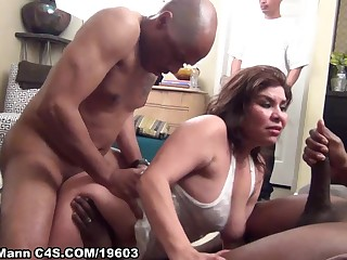 Exciting Latina Is Life Of Ensemble And Copulated  - party