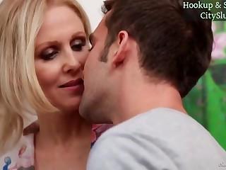 Blond Crawl Stepmom Julia Ann Hot Sex Video