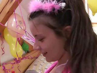 Hot Czech Teen Lesbians in Costumes