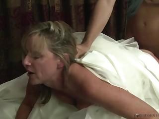 Begetter Jodi West Fucks Son In Her Wedding Glad rags - JodiWest