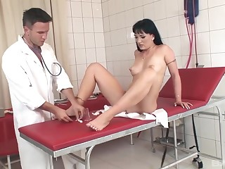 Slut gets beef injection check b determine pussy catechism