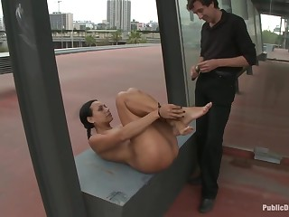 Lara Tanelli gets fucked in the up to the old wazoo in fetch